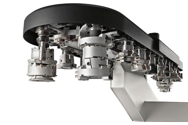 Инструментальный магазин TRC48 станка с ЧПУ ACCORD 40 FXM, производство SCM Италия