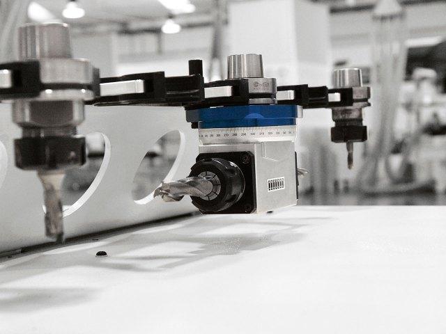 Агрегат с угловой передачей с 2 выходами Morbidelli N100, производство SCM (Италия)
