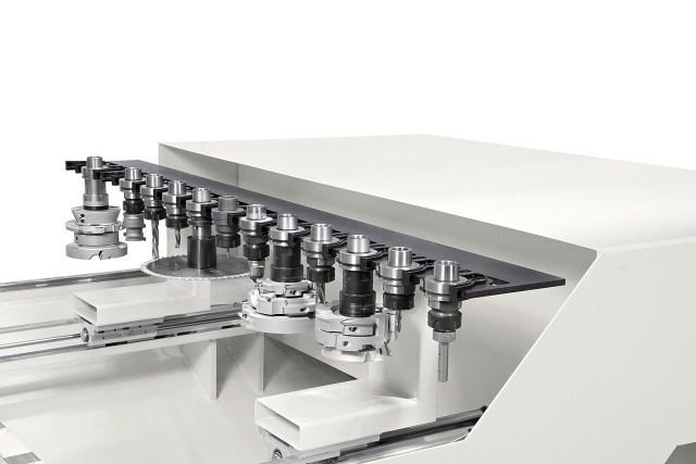 Боковой инструментальный магазин TRB14 MORBIDELLI P 200, производство SCM (Италия)