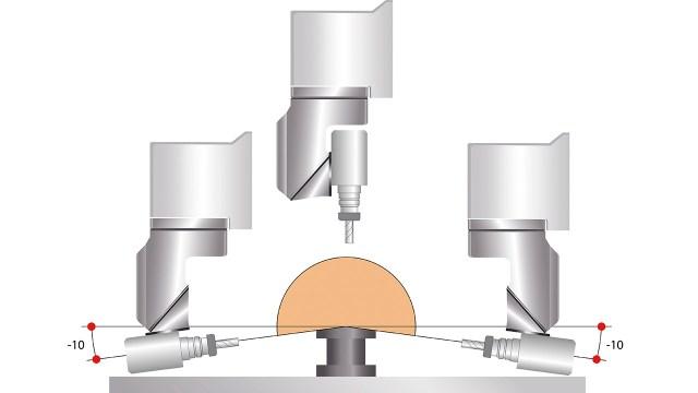 Геометрия рабочей группы Prisma Morbidelli M600/800, производство SCM (Италия)