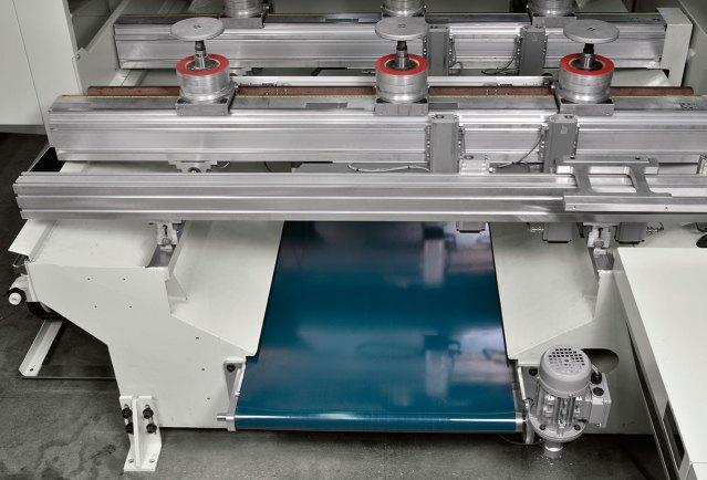 Ленточный транспортёр для стружки ACCORD 42 FX, производство SCM GROUP (Италия)