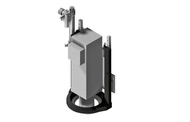 Механический коаксиальный прижим ACCORD 25 FXM, производство SCM (Италия)