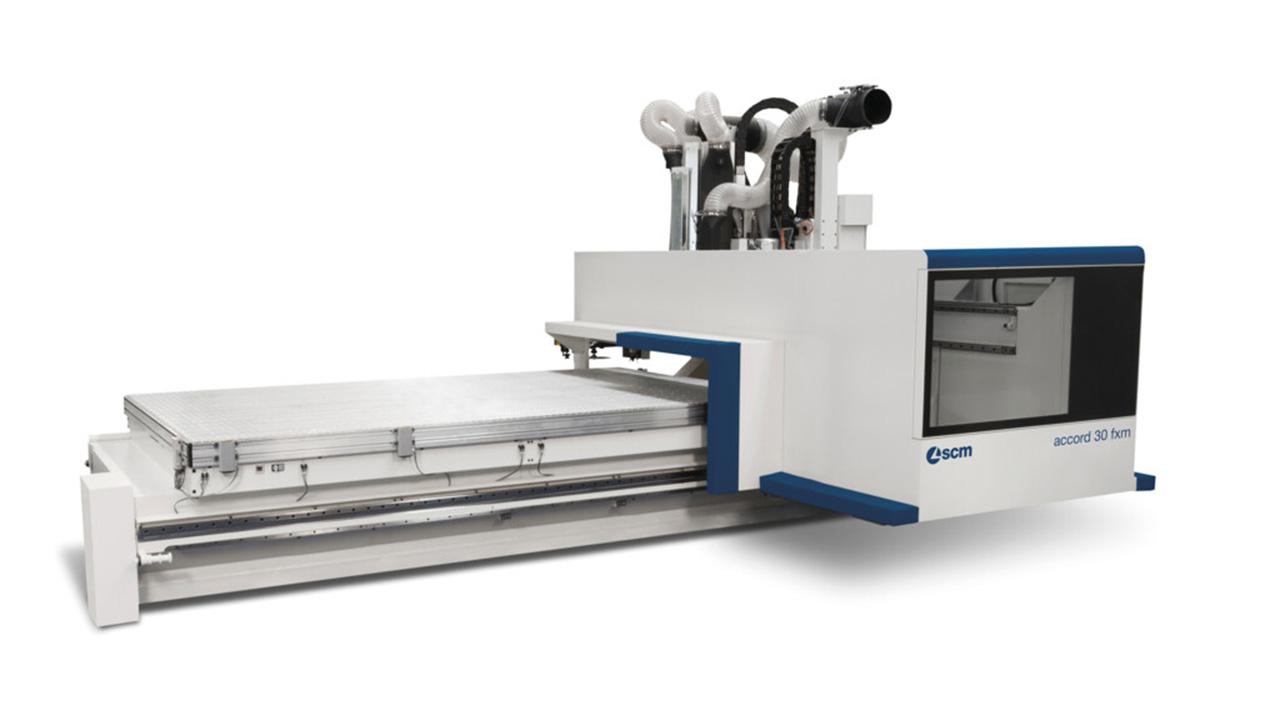 Обрабатывающий центр с ЧПУ ACCORD 30 FXM, производство SCM Италия