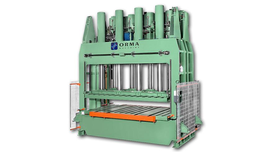 Холодный пресс PFL, производство ORMA Machine Италия