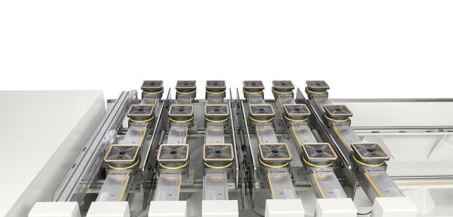 Ручная версия рабочего стола TV FLEX Morbidelli M 100/200, производство SCM (Италия)