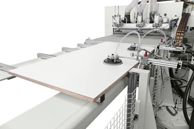Вакуумный модуль с присосками Morbidelli N200, производство SCM (Италия)