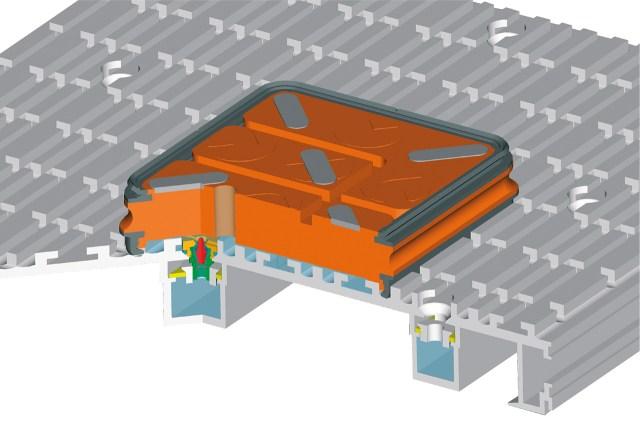 Визуализация присоски MPS рабочего стола ACCORD 25 FX, производство SCM (Италия)