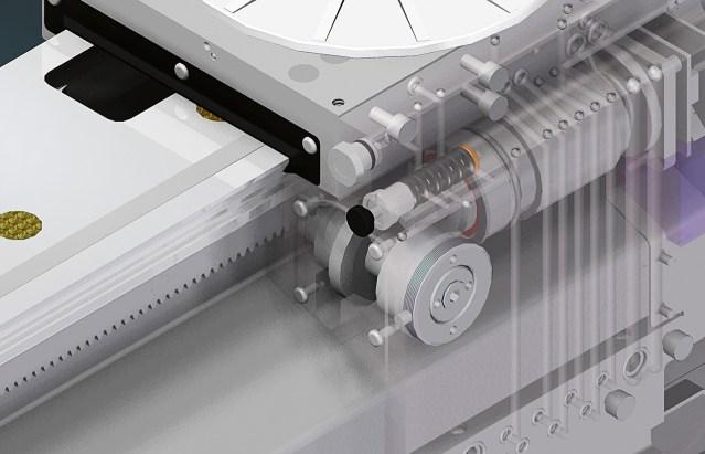 Визуализация рабочего стола Matic ACCORD 25 FX, производство SCM (Италия)