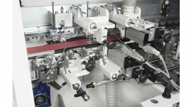 Отделочные группы кромкооблицовочного станка Minimax ME 35 TR, производство SCM Италия