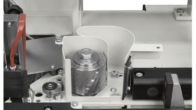 Выпрямляющая группа кромкооблицовочного станка Minimax ME 28T RC, производство SCM Италия