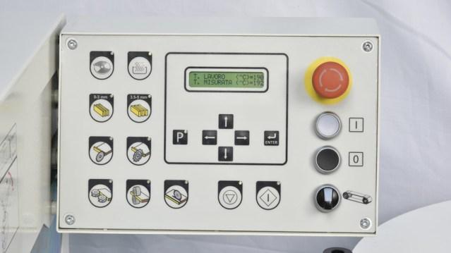 Блок управления кромкооблицовочного станка Minimax ME 28T RC, производство SCM Италия