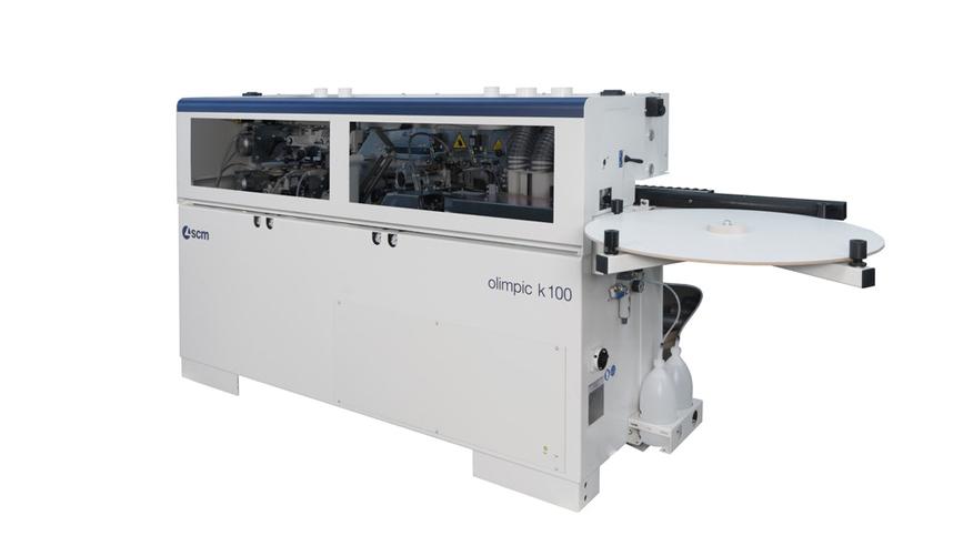 Кромкооблицовочный станок Olimpic K 100, производство SCM Италия