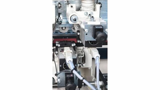 Пильная группа кромкооблицовочного станка Olimpic K 100, производство SCM Италия