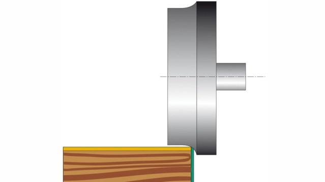 Триммер_A кромкооблицовочного станка Olimpic K 100, производство SCM Италия