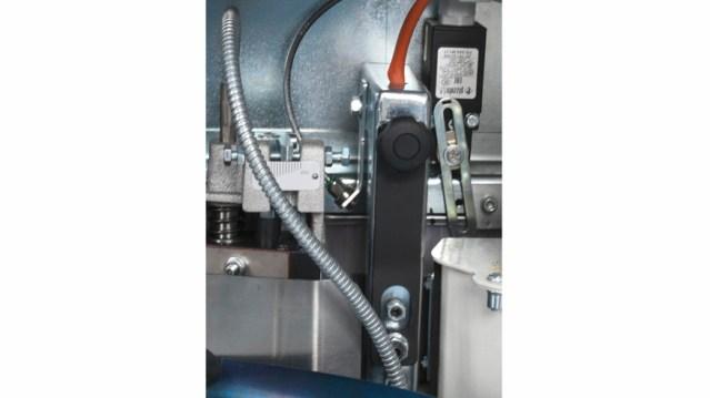 Панельное отопление кромкооблицовочного станка Olimpic K 100, производство SCM Италия
