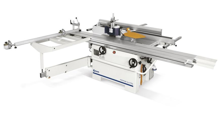 Универсальный многооперационный станок Minimax CU 410C, производство SCM Италия