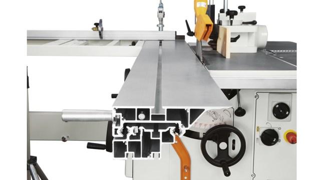 Структура универсального станка Minimax CU 300C, производство SCM Италия