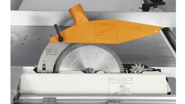 Пильная группа классического универсального станка Minimax CU 300C, производство SCM Италия