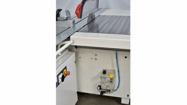 Форматно-раскроечный станок Class SI 400EP, производство SCM Италия, микросмазка пильного диска