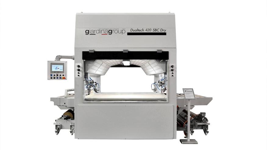 Автомат окраски распылением Dualtech 420 SBC, производство Giardina Group (Италия)