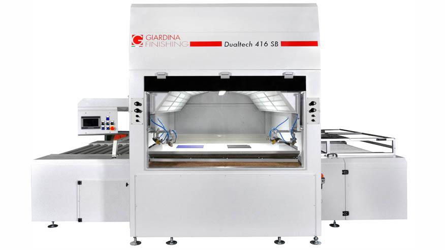 Автомат окраски распылением Dualtech 415 SB, производство Giardina Group Италия