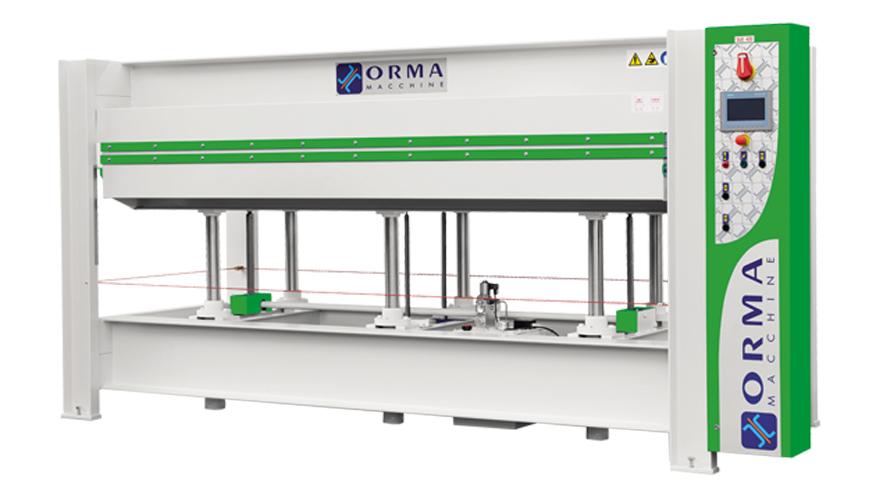 Горячий пресс NPC ES, производство ORMA Machine Италия
