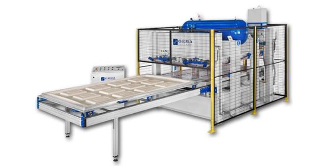 Мембранный пресс PM Air System ECO, производство ORMA Machine Италия