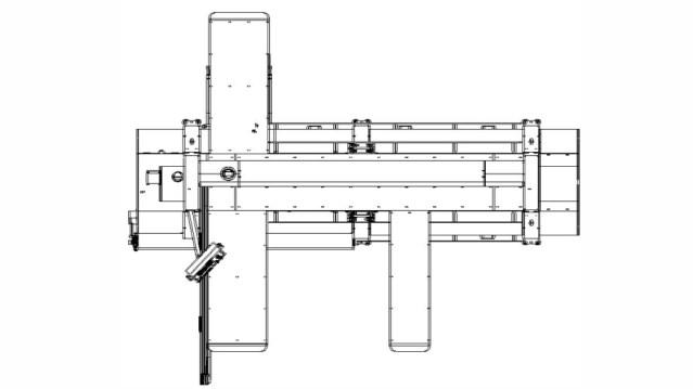Чертеж для форматно-раскроечного станка Class PX 350I, производство SCM Италия