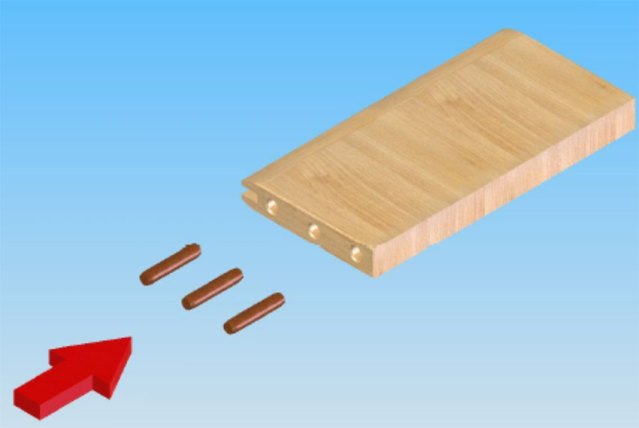 Впрыск клея и вставка шкантов станка для обработки поперечин рамочных фасадов FSFS2, производство Fiorenza Италия