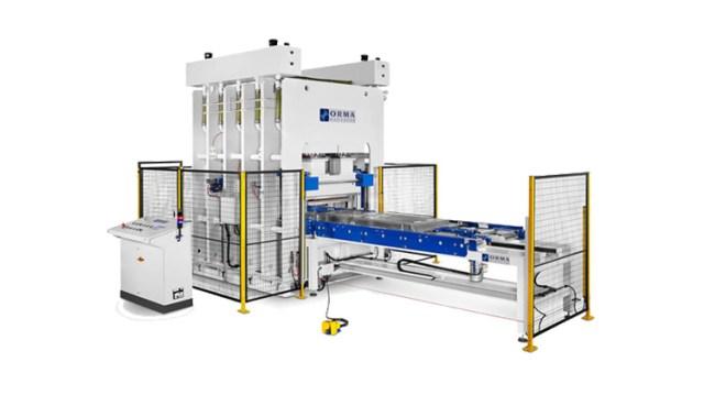 Пресс для штамповки металла PSA STEEL, производство Orma Macchine Италия