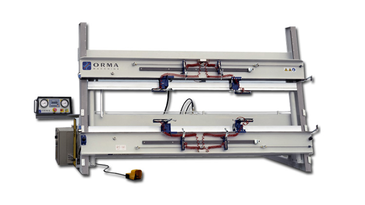 Гидравлическая универсальная сборочная вайма FUTURA, производство Orma Macchine Италия