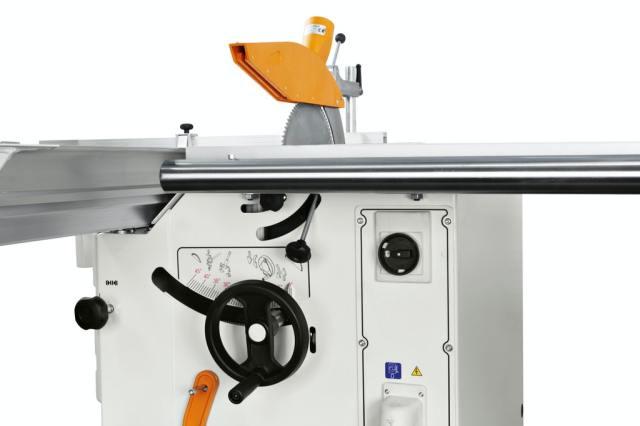 Подрезная группа круглопильно-фрезерного станка Minimax ST 3C, производство SCM Италия