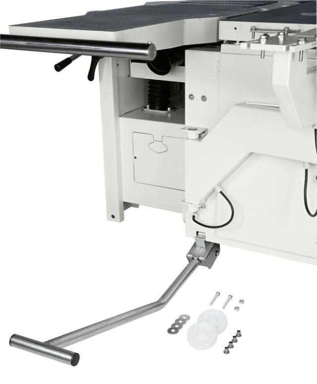 Ролики для перемещения стола круглопильно-фрезерного станка Minimax ST 3C, производство SCM Италия