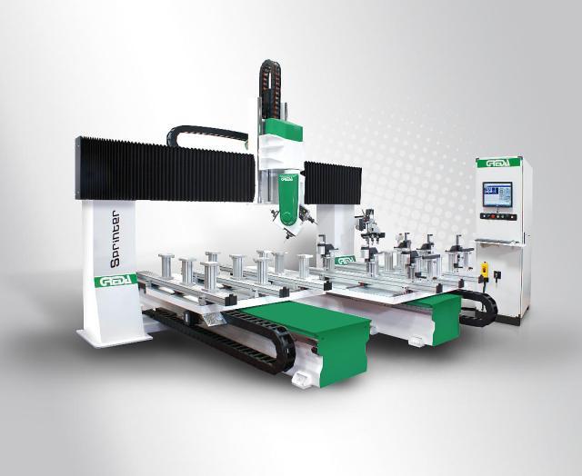 Обрабатывающий центр с ЧПУ SPRINTER R3 CU, производство Greda Италия
