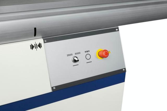 2 скорости станка Nova SI X, производство SCM Италия