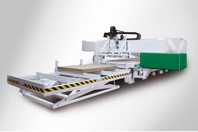 Обрабатывающий центр с ЧПУ для нестинга ARGO GANTRY CM7, производство Greda-Италия