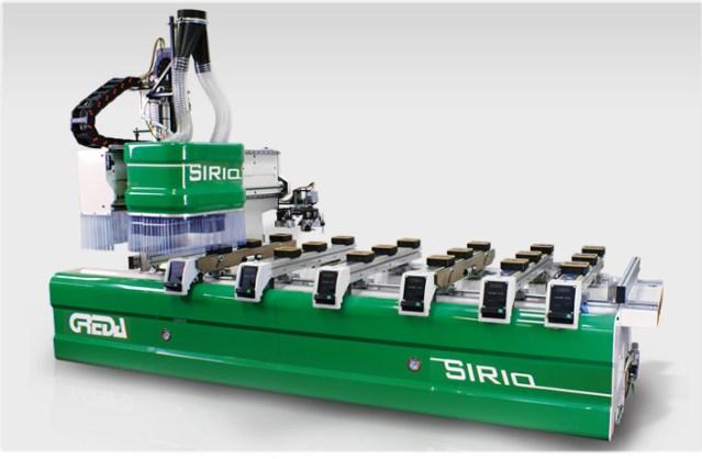 Консольный обрабатывающий центр с ЧПУ Sirio, производство Greda Италия