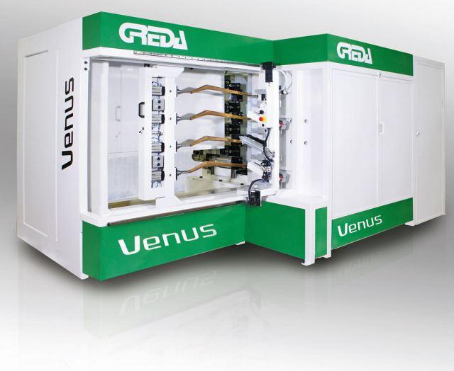 Обрабатывающий центр с ЧПУ VENUS  для массового производства, производитель Greda Италия
