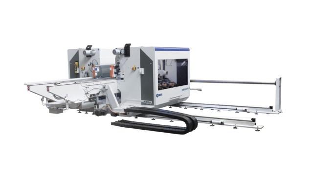 celaschi cp - это станок для обгонки по периметру компактной конструкции, производство SCM