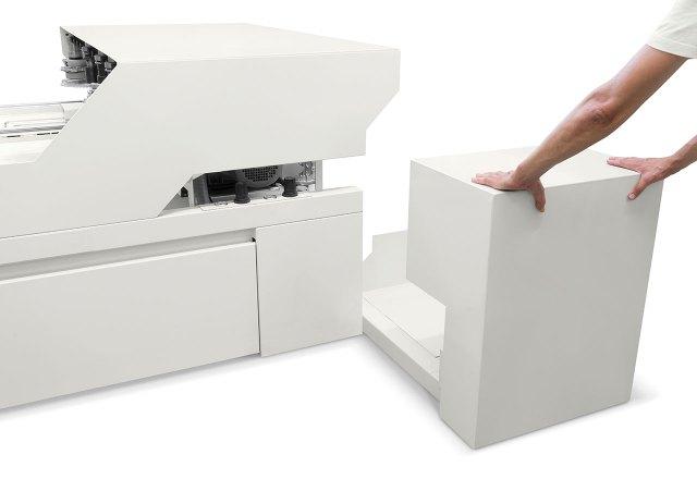 Ящик для сбора отходов обрабатывающего центра с ЧПУ Morbidelli M220 (Италия)