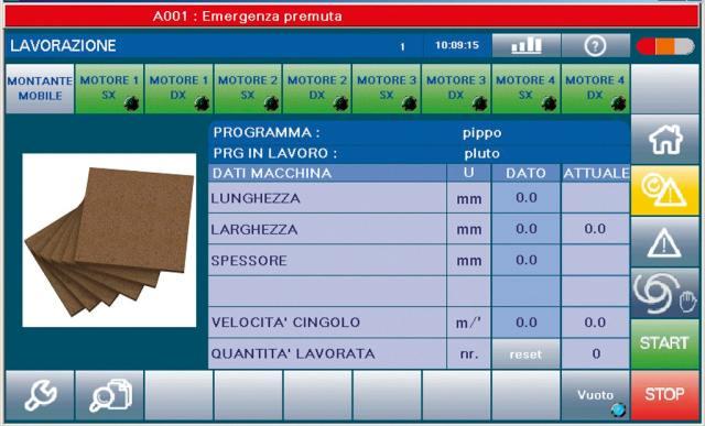 Электронное управление EASY станка Celaschi P 30