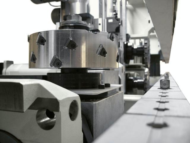 Система транспортировки заготовок станка Celaschi P 40, производство SCM Италия
