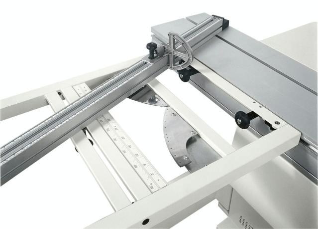 Устройство поворота линейки на заранее предустановленные углы станка Minimax SI X, производство SCM (Италия)