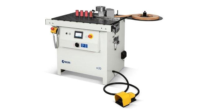 Криволинейный кромкооблицовочный станок Minimax E 20, производство SCM Group (Италия)