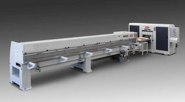 Модуль для удлинения пресса линии сращивания древесины на мини-шип SKYLINE, производство Bottene (Италия)