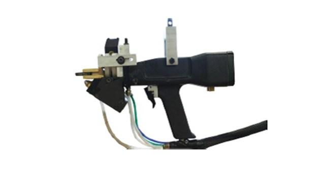 Пистолет для впрыска клея и вставки шкантов станка GLF, производитель Stema (Италия)