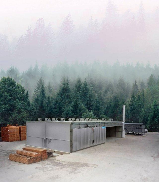 Традиционная сушильная установка с водяными радиаторами ICD, производитель Incomac (Италия)