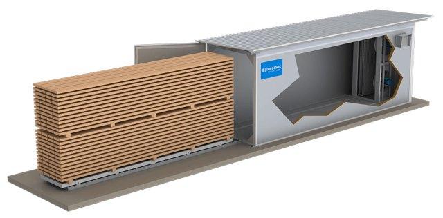 Версия Junior сушильной камеры ICD, производство Incomac (Италия)