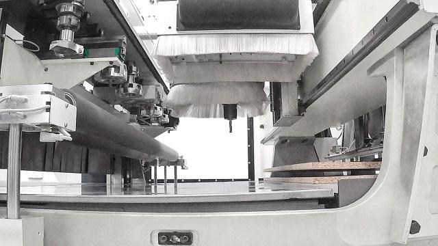 Загрузка двух панелей Morbidelli X200-X400, производство SCM (Италия)
