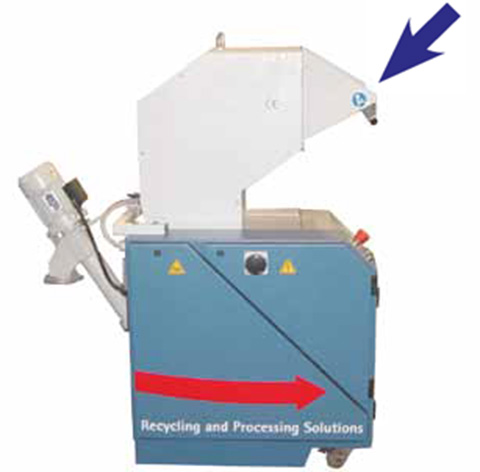 Гранулятор для ПВХ пресса AUTOMATION 1 TRAYS, производство ORMA Macchine (Италия)